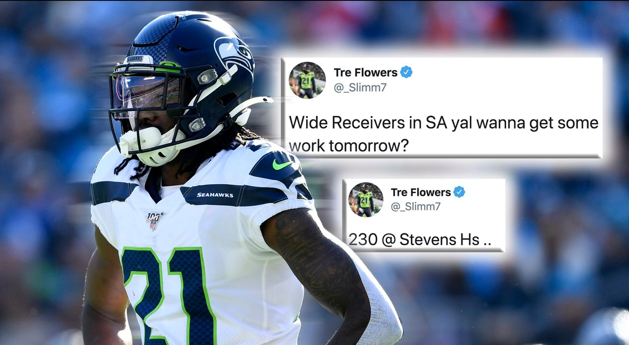Seahawks-Cornerback Tre Flowers lädt zu spontanem Workout an High School - Bildquelle: Getty Images