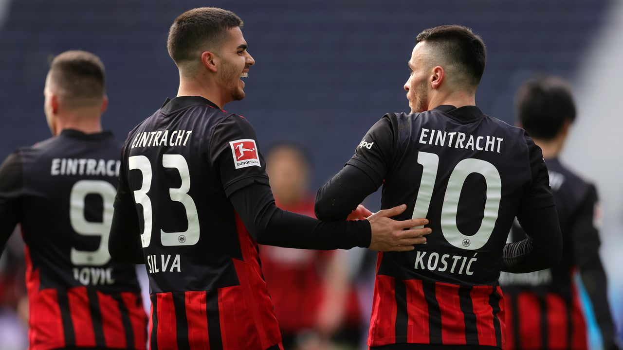 Eintracht Frankfurt - Bildquelle: 2021 Getty Images
