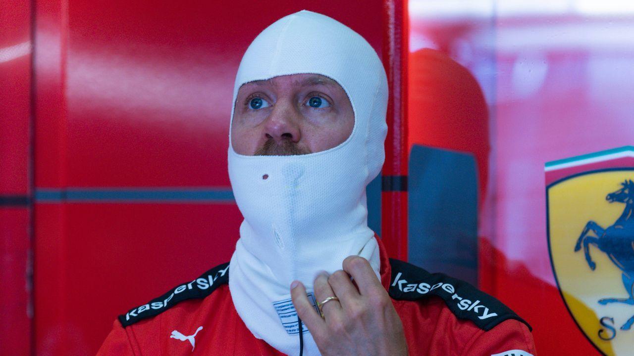 Vettel muss warten - Bildquelle: HOCH ZWEI/Pool/COLOMBO IMAGES