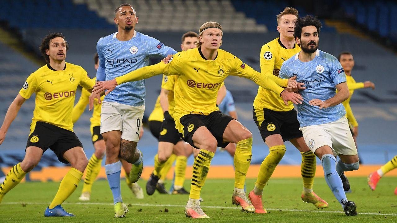 Knappes 1:2 bei Manchester City: Die BVB-Stars in der Einzelkritik - Bildquelle: Getty Images