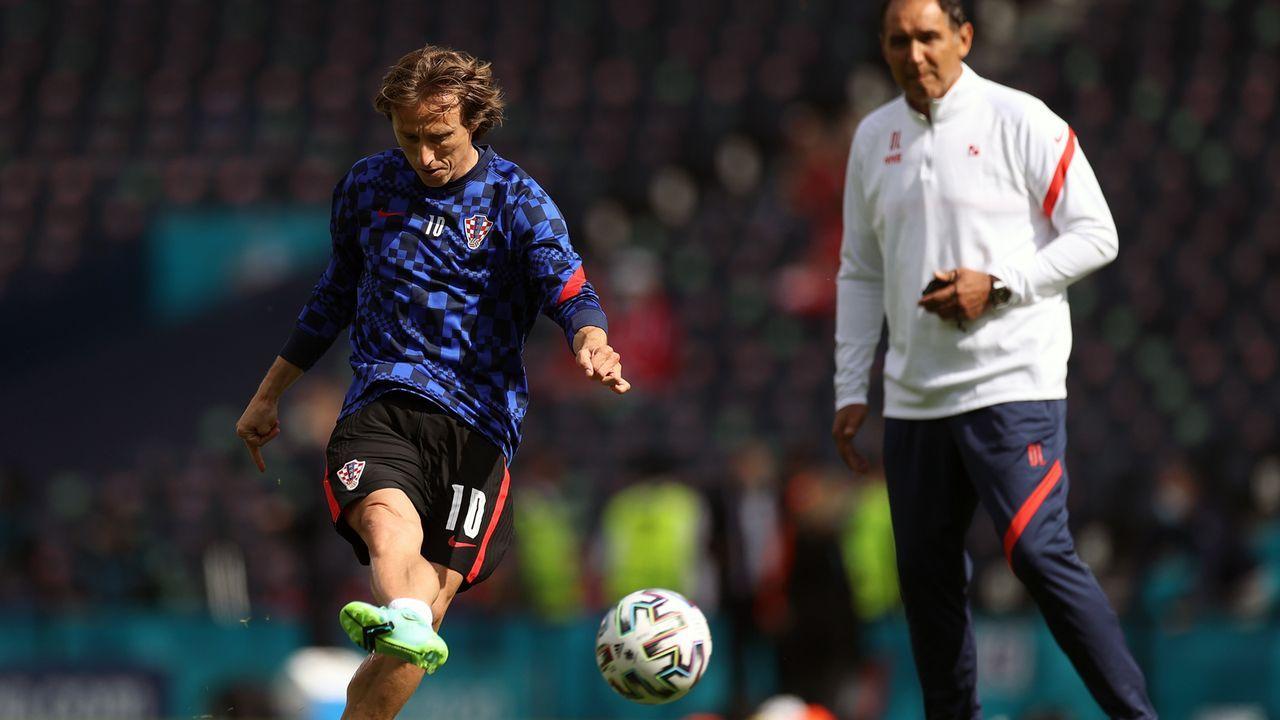 Gruppe D: Kroatien (Gruppenzweiter, 4 Punkte/4:3 Tore) - Bildquelle: 2021 Getty Images