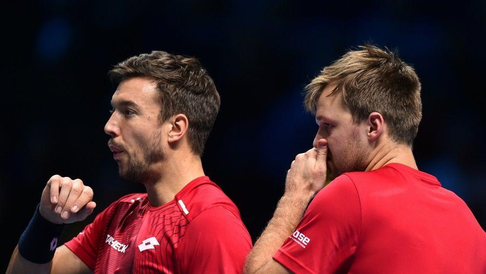 Die French-Open-Sieger stehen in Wien im Halbfinale - Bildquelle: AFPSIDGLYN KIRK