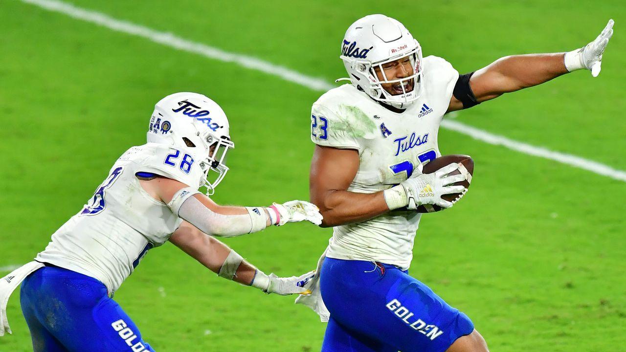 22. Pick: Tennessee Titans - Zaven Collins, LB - Bildquelle: 2020 Getty Images