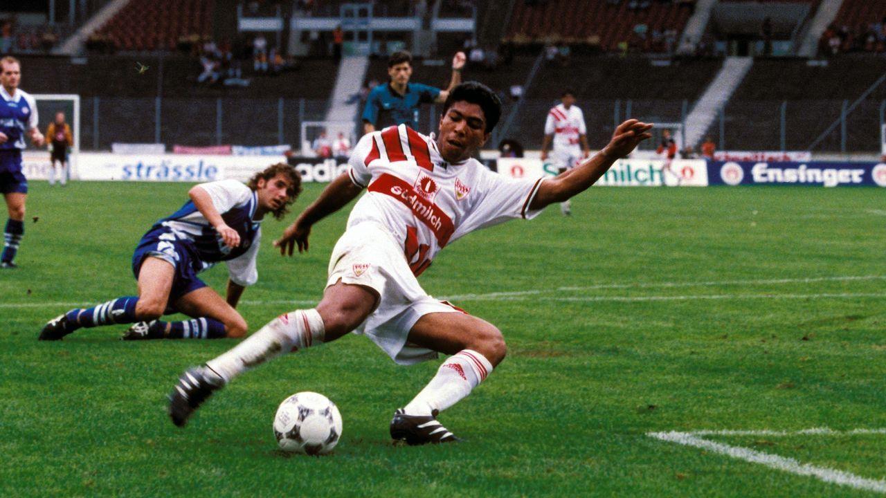 Giovane Elber (VfB Stuttgart) - Bildquelle: imago/Pressefoto Baumann