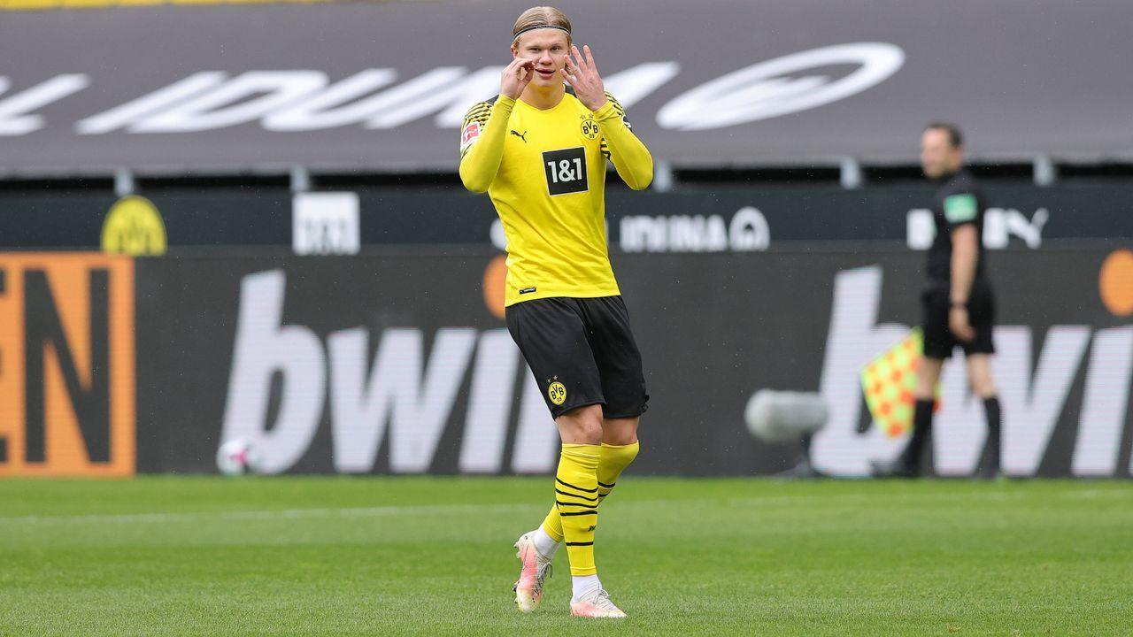 Platz 1 (geteilt): Erling Haaland (Borussia Dortmund) - Bildquelle: Imago