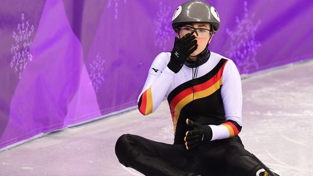 Anna Seidel kam in Dordrecht zweimal zu Fall - Bildquelle: AFPSIDROBERTO SCHMIDT