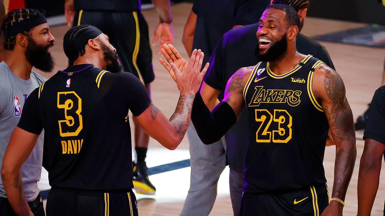 Superstar-Duo bringt Lakers zurück zum Erfolg - Bildquelle: 2020 Getty Images