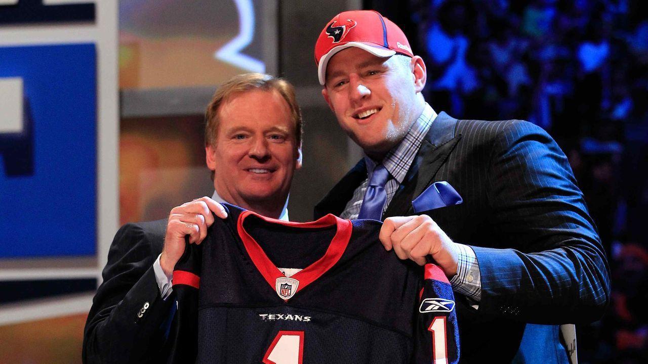 Buhrufe beim NFL Draft 2011 - Bildquelle: getty