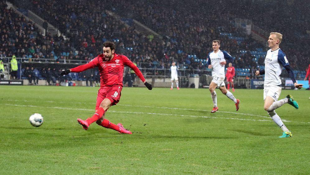 Hamadi Al Ghaddioui sorgt für Big Points des VfB Stuttgart - Bildquelle: Imago