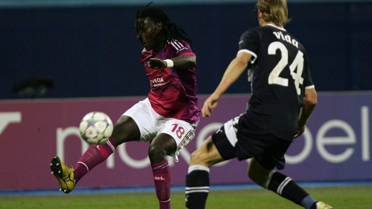 Bafetimbi Gomis (Olympique Lyon) - Bildquelle: imago sportfotodienst