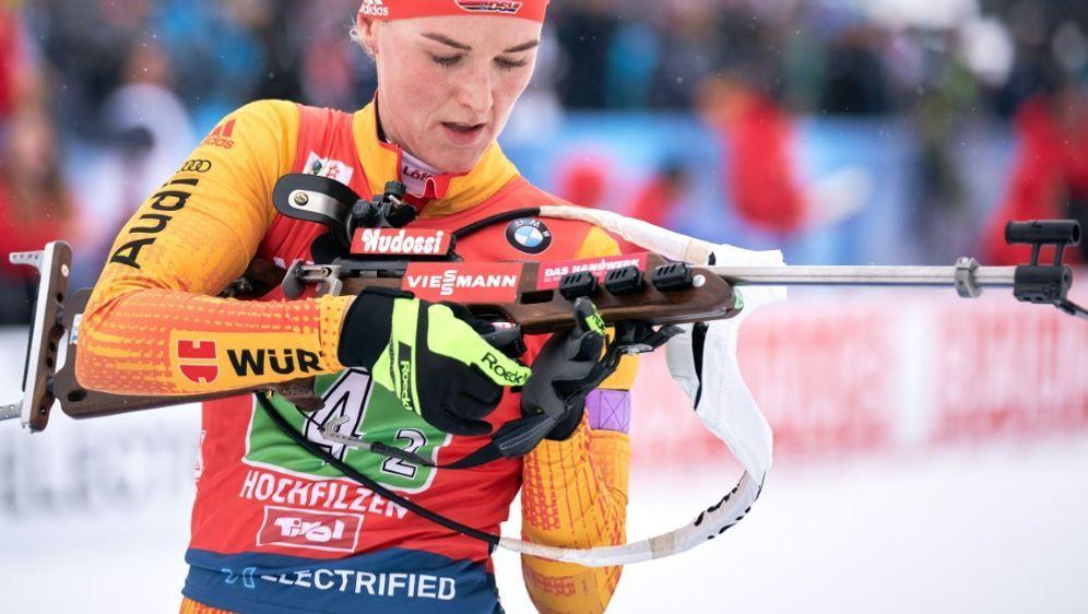 Denise Herrmann fehlerhaft am Schießstand - Bildquelle: APAAPAAFPGEORG HOCHMUTH