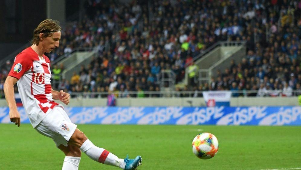 Luka Modric fällt vorerst verletzt aus - Bildquelle: AFPSIDJOE KLAMAR