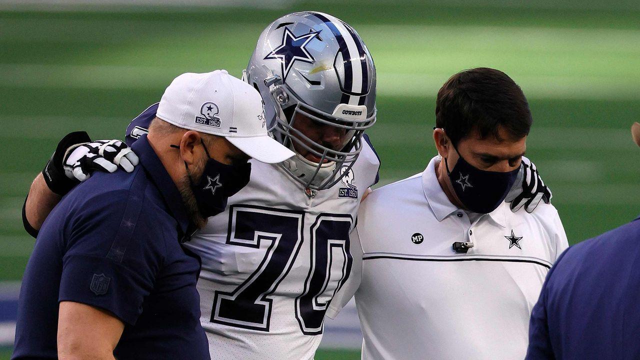 Zack Martin und Cameron Erving (beide Dallas Cowboys) - Bildquelle: getty