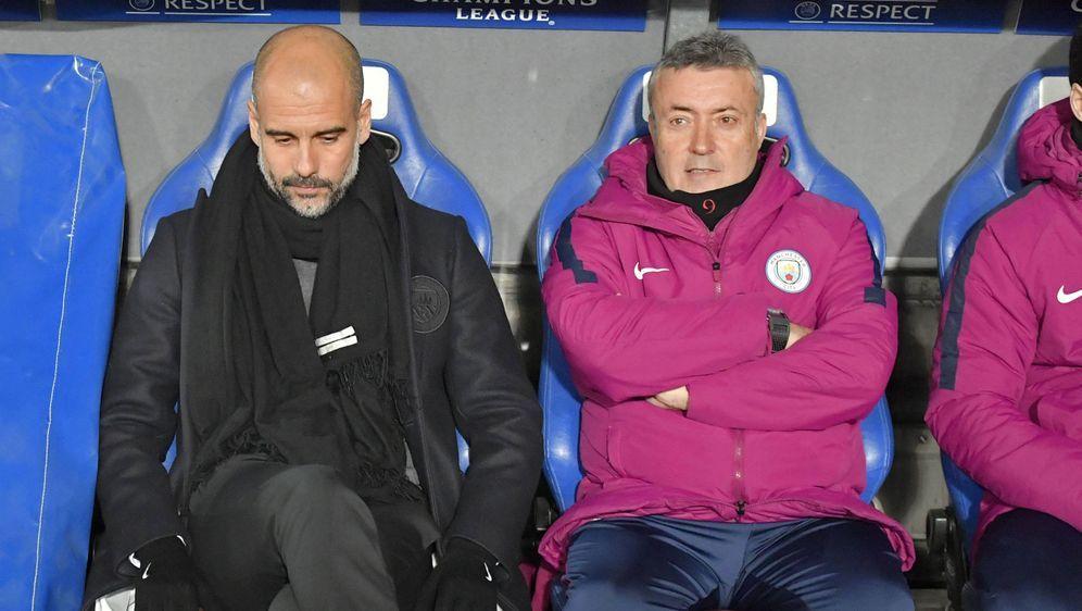 Torrent (re.) und Guardiola (li.) arbeiteten zuletzt erfolgreich zusammen be... - Bildquelle: imago/MIS
