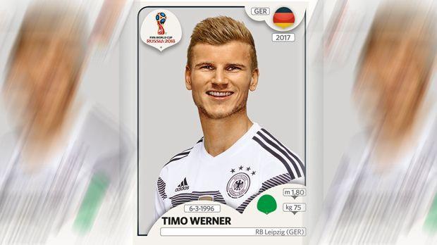 Timo Werner (RB Leipzig) - Bildquelle: Panini