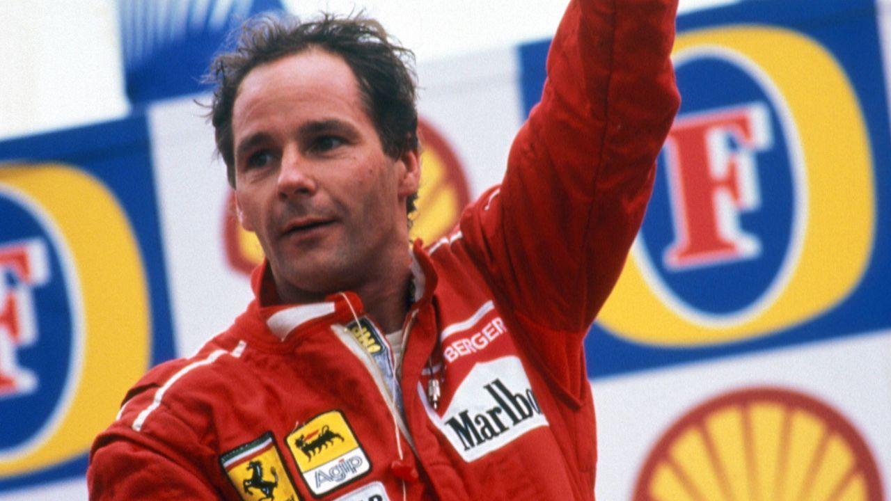 Gerhard Berger (210 Formel-1-Rennen) - Bildquelle: imago/WEREK