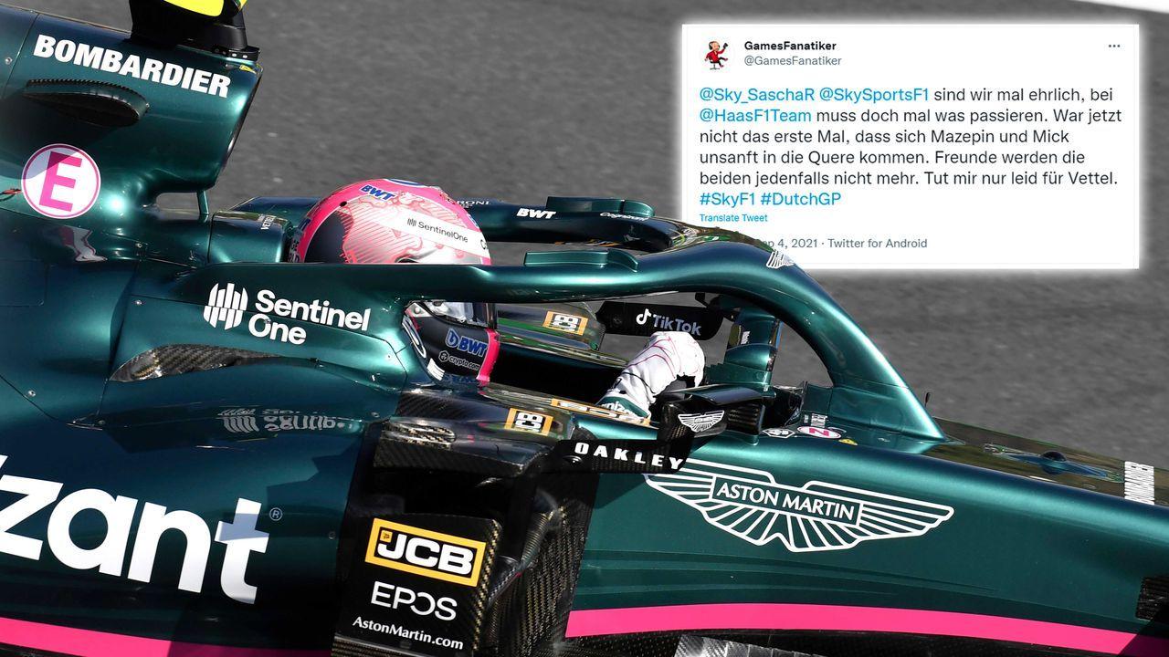 Sebastian Vettel ist der Leidtragende - Bildquelle: imago images/Laci Perenyi