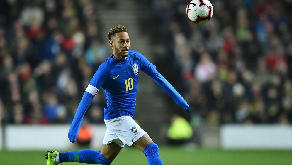 Führt das Aufgebot der Brasilianer an: Superstar Neymar - Bildquelle: AFPSIDGLYN KIRK