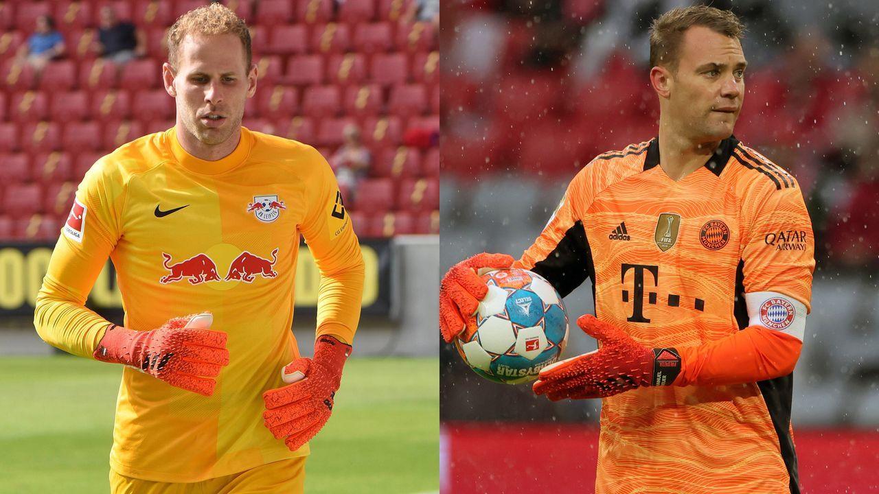 Peter Gulacsi vs. Manuel Neuer - Bildquelle: Imago