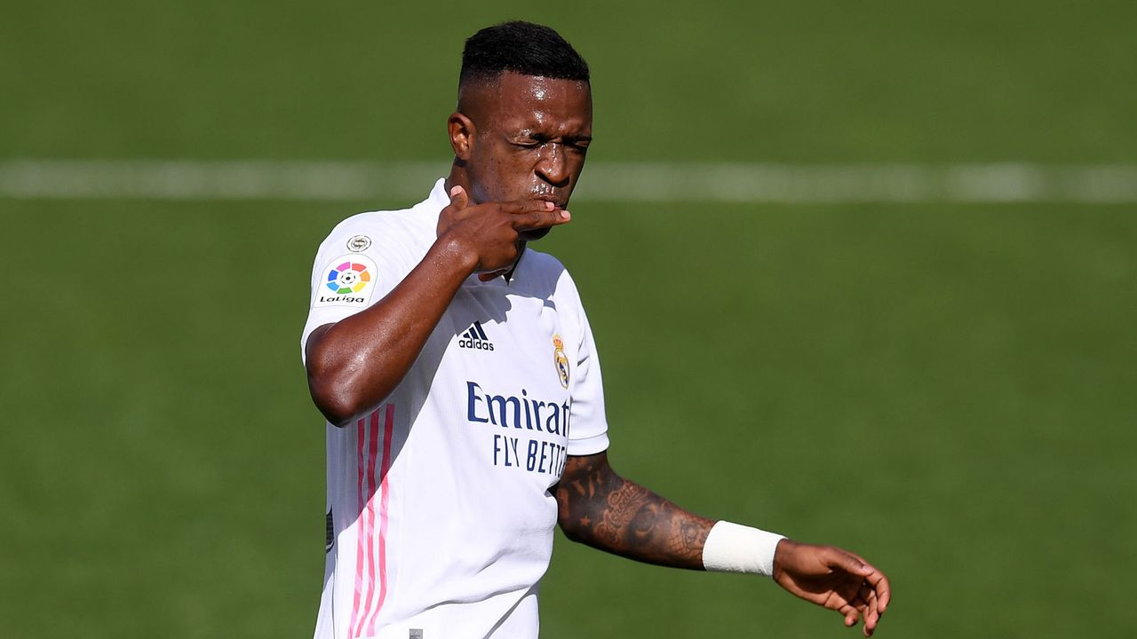 10. Vinicius Junior (Real Madrid) - 9 Punkte - Bildquelle: Getty Images