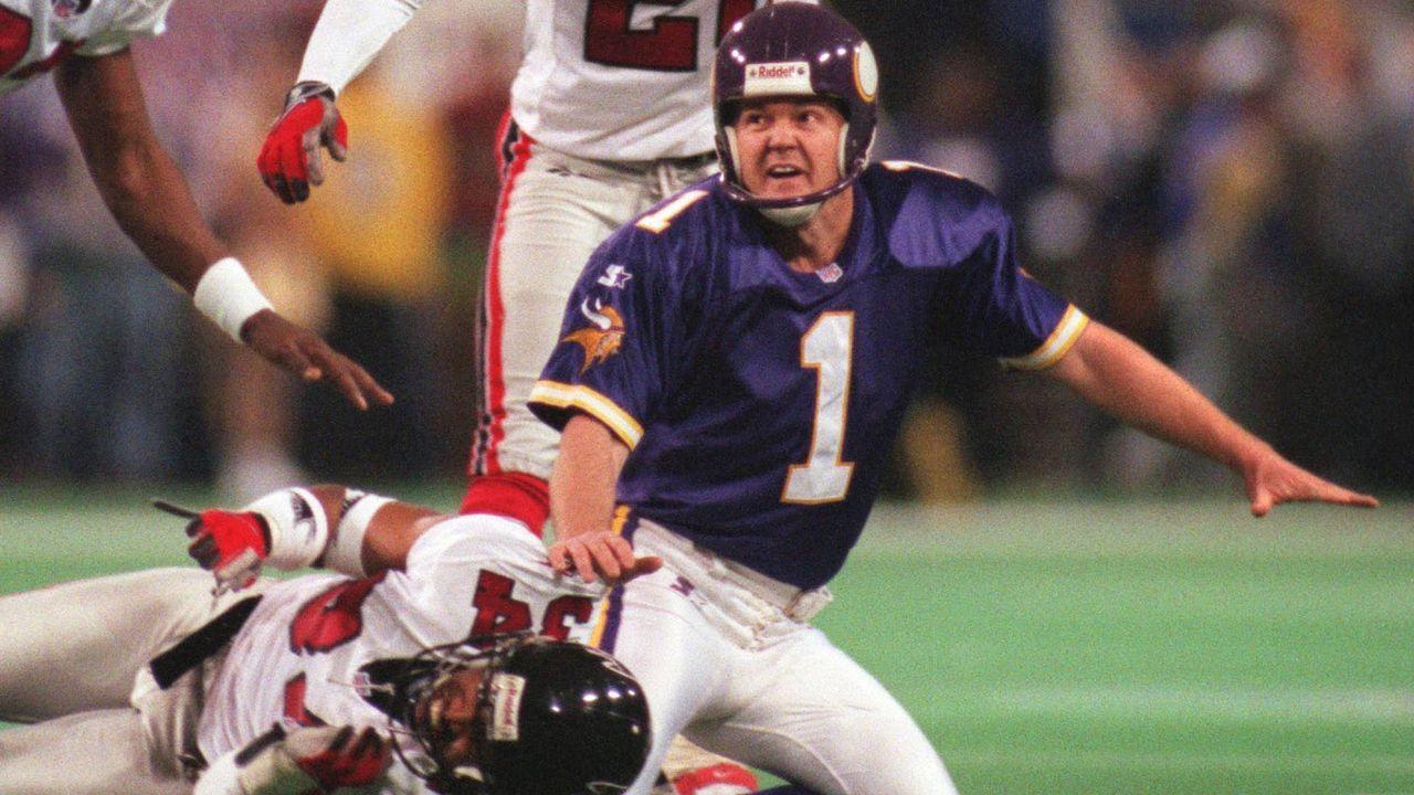 Season 1998: Gary Anderson (Minnesota Vikings) - Bildquelle: imago/ZUMA Press