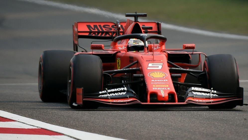 Vettel wurde Zweiter im letzten Training - Bildquelle: AFPSIDWANG ZHAO