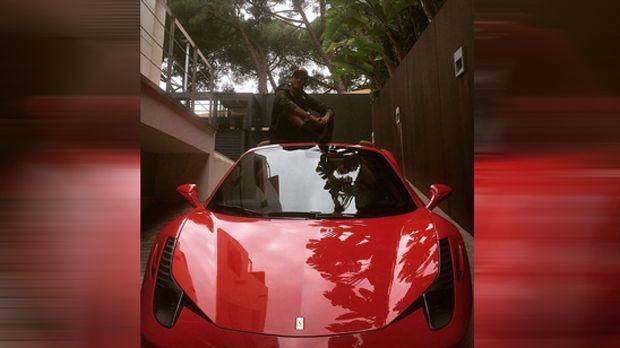 Neymars Ferrari 458 Spider - Bildquelle: instagram.com/neymarjr
