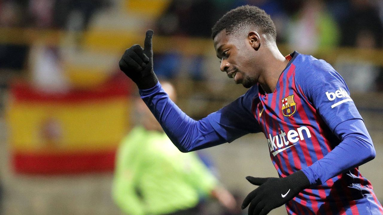 Ousmane Dembele (FC Barcelona) - Bildquelle: imago/Agencia EFE