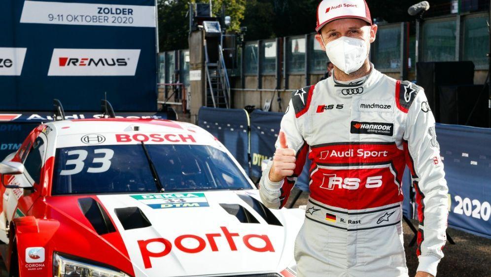 Rene Rast triumphiert erneut in Zolder - Bildquelle: Audi Communications MotorsportAudi Communications MotorsportAudi Communications MotorsportAudi Communications Motorsport