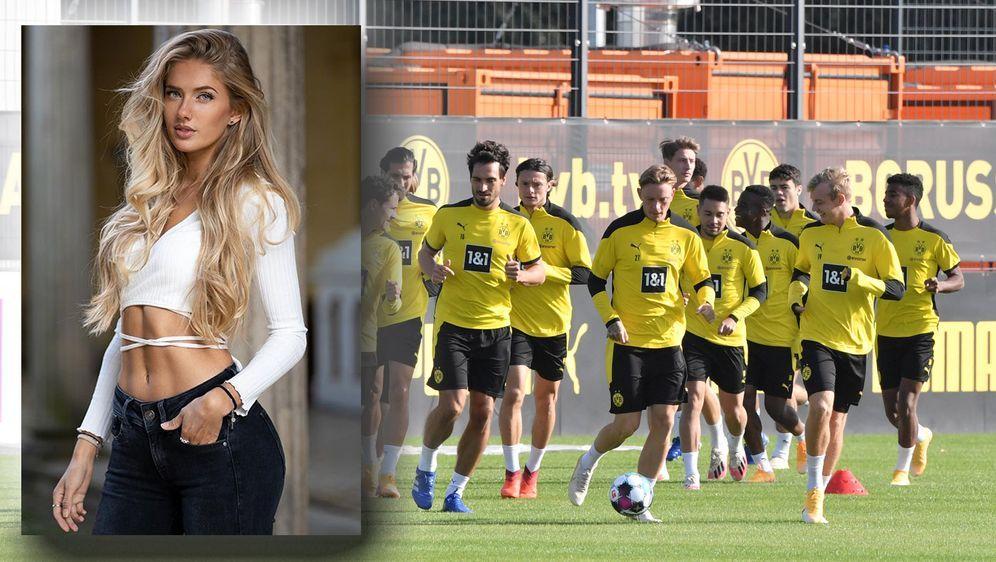 Alica Schmidt trainierte zuletzt mit den BVB-Profis. - Bildquelle: imago images/Team 2/instagram/alicasmd