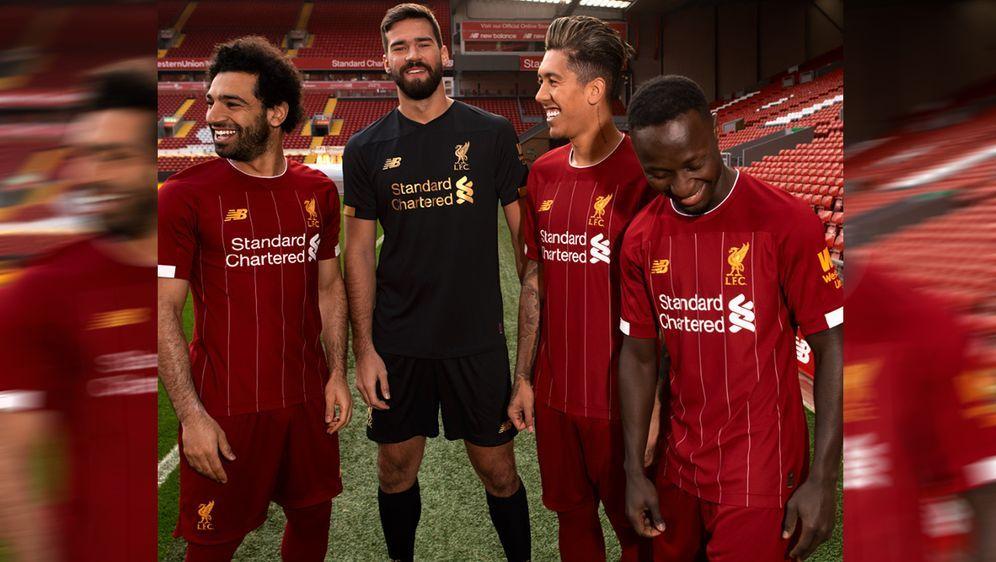 Der FC Liverpool hat schon jetzt die Heim-Trikots für die Saison 2019/20 prä... - Bildquelle: twitter@LFC