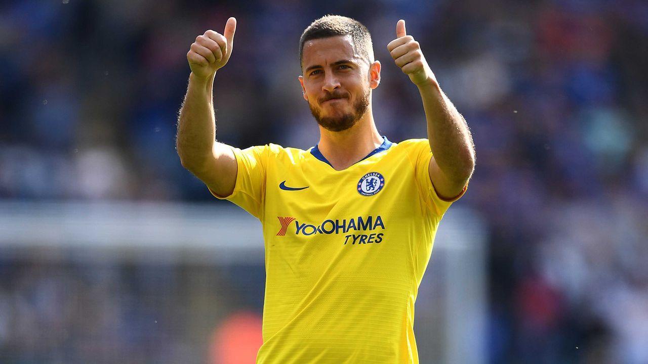 Platz 10: Eden Hazard - Bildquelle: 2019 Getty Images