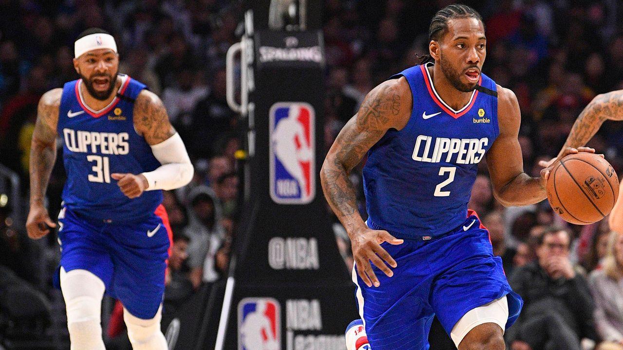 Westen: Los Angeles Clippers - Bildquelle: imago images/Icon SMI