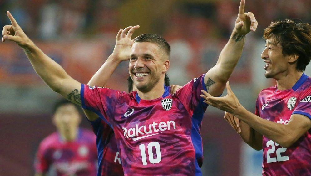 Verhalf seinem Team zum Sieg: Lukas Podolski - Bildquelle: AFPSIDSTR