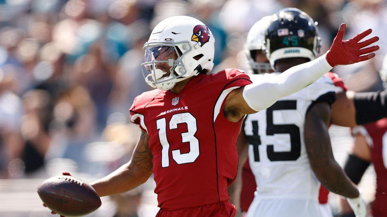 Wide Receiver: Christian Kirk (Arizona Cardinals) - Bildquelle: 2021 Getty Images