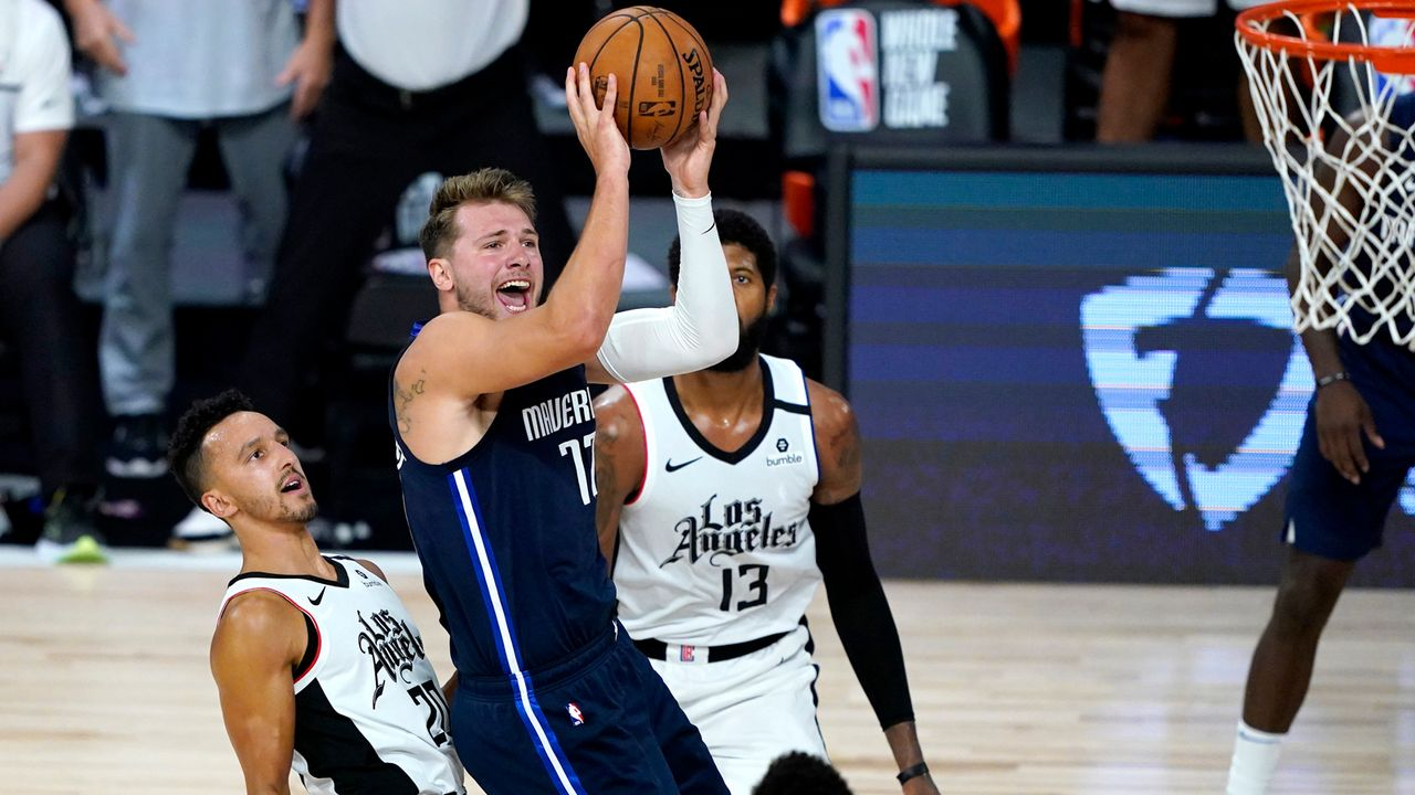 Westen: Los Angeles Clippers (2) vs. Dallas Mavericks (7) - Bildquelle: 2020 Getty Images