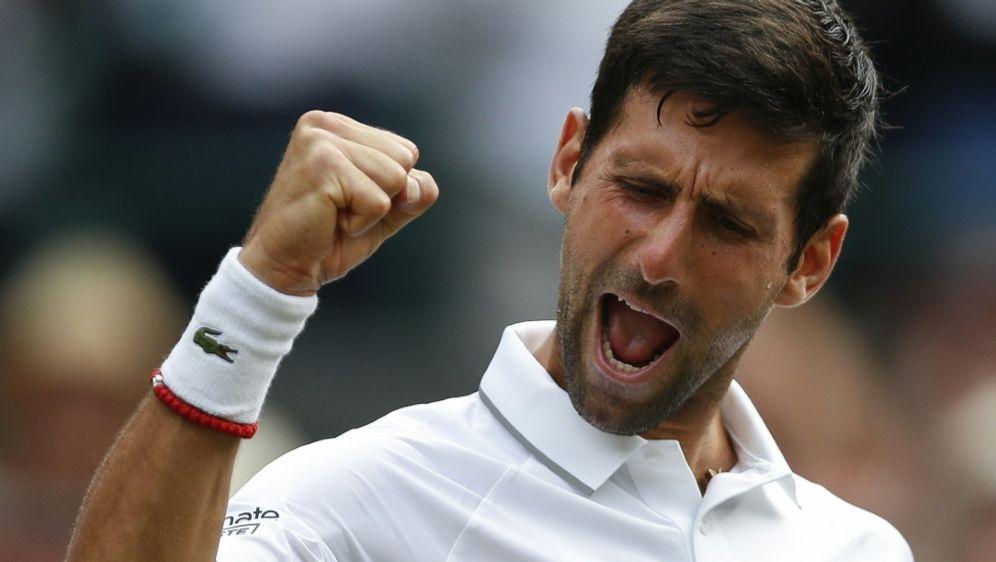 Steht im Finale von Wimbledon: Novak Djokovic - Bildquelle: PIXATHLONPIXATHLONSID