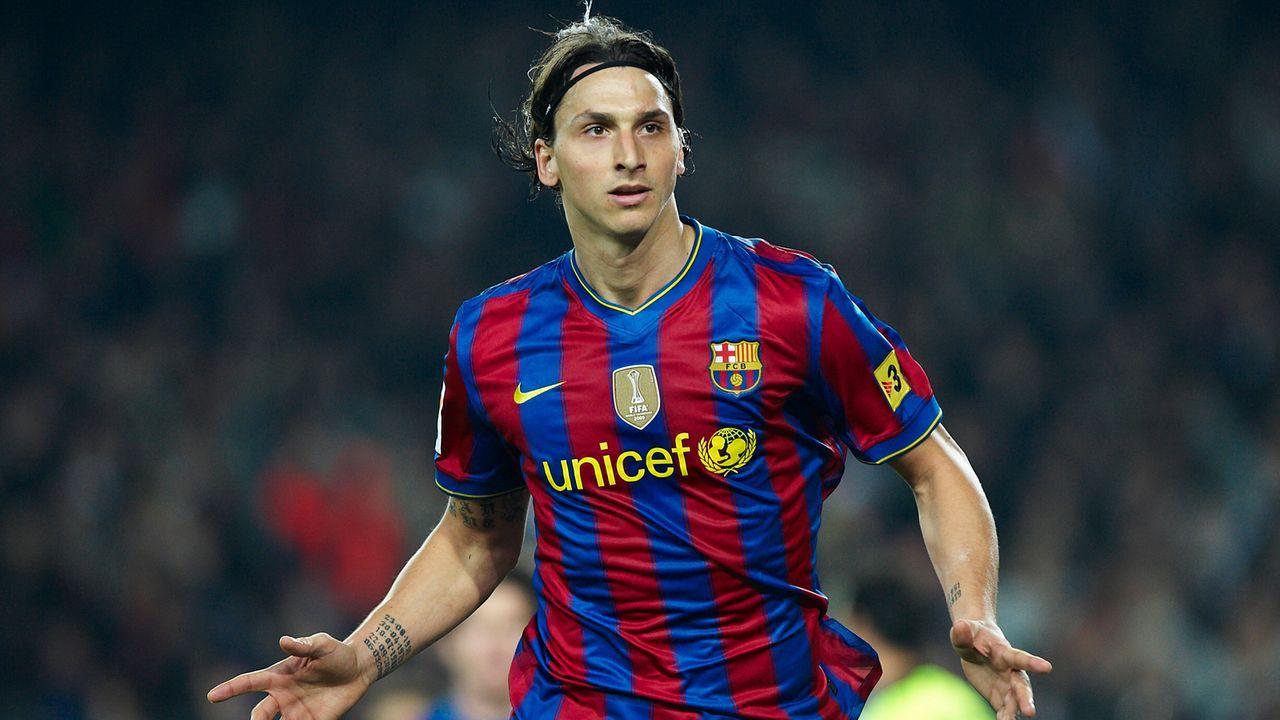 Zlatan Ibrahimovic (FC Barcelona) - Bildquelle: 2010 Getty Images