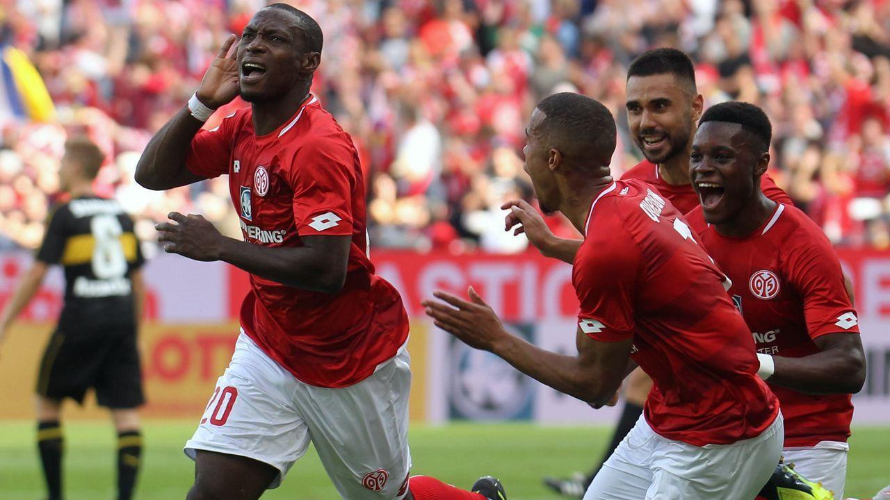 Platz 10 - 1. FSV Mainz 05 - Bildquelle: imago/Eibner