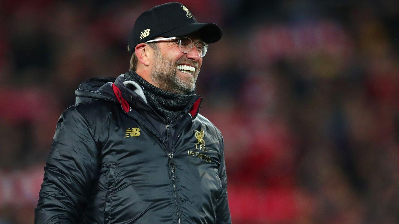 Platz 3 - Jürgen Klopp (FC Liverpool) - Bildquelle: 2019 Getty Images