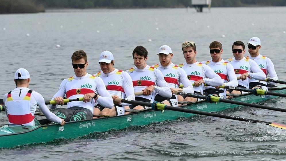 Deutschland-Achter gewinnt Vorlauf und steht im Finale - Bildquelle: DRVSeyb DRVSeybDRVSeyb