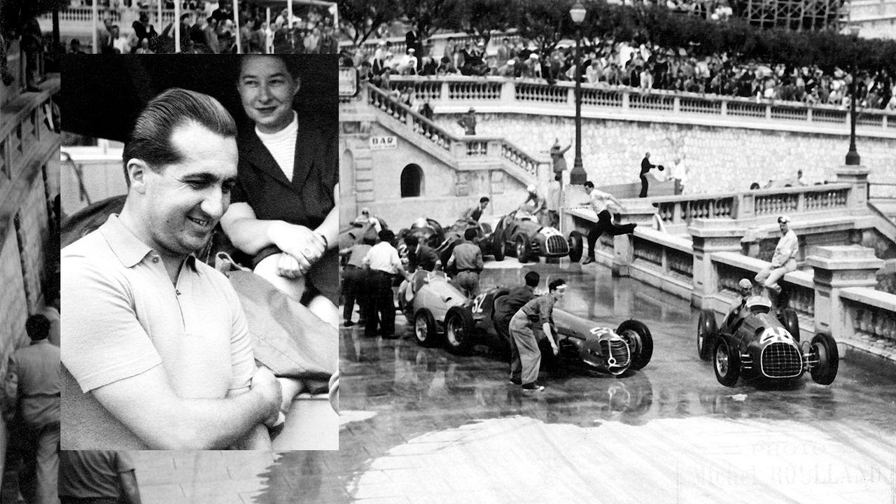 1955: Ascari macht Abflug ins Hafenbecken - Bildquelle: Imago Images