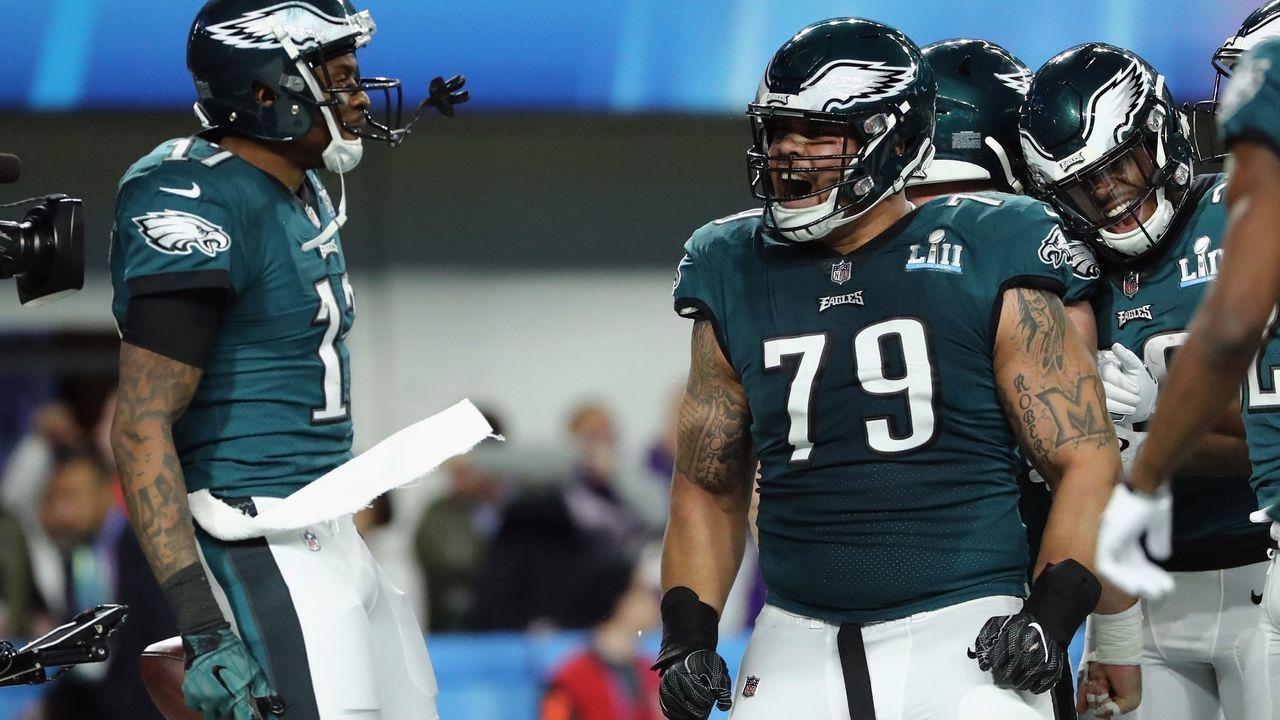 Right Guard: Brandon Brooks (Philadelphia Eagles) - Bildquelle: 2018 Getty Images
