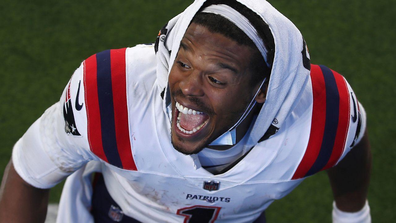 Week 13: Cam Newton zum dritten Mal 10 oder mehr Rushing Touchdowns - Bildquelle: 2020 Getty Images