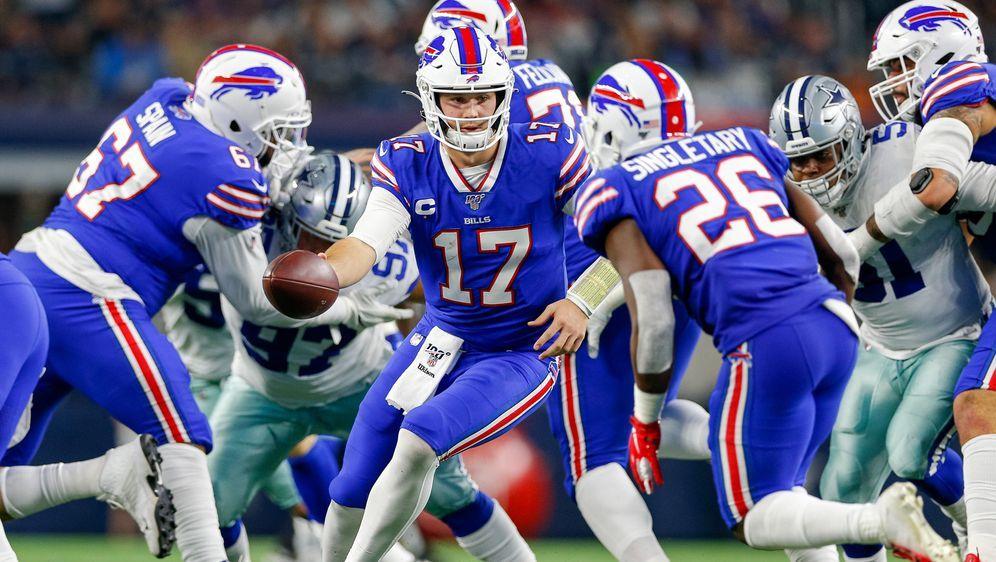 Auf Playoff-Kurs: die Buffalo Bills. - Bildquelle: imago images/Icon SMI