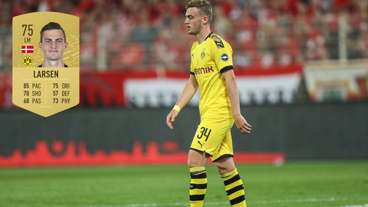 7. Jacob Bruun Larsen (Borussia Dortmund) - Bildquelle: 2019 Getty Images