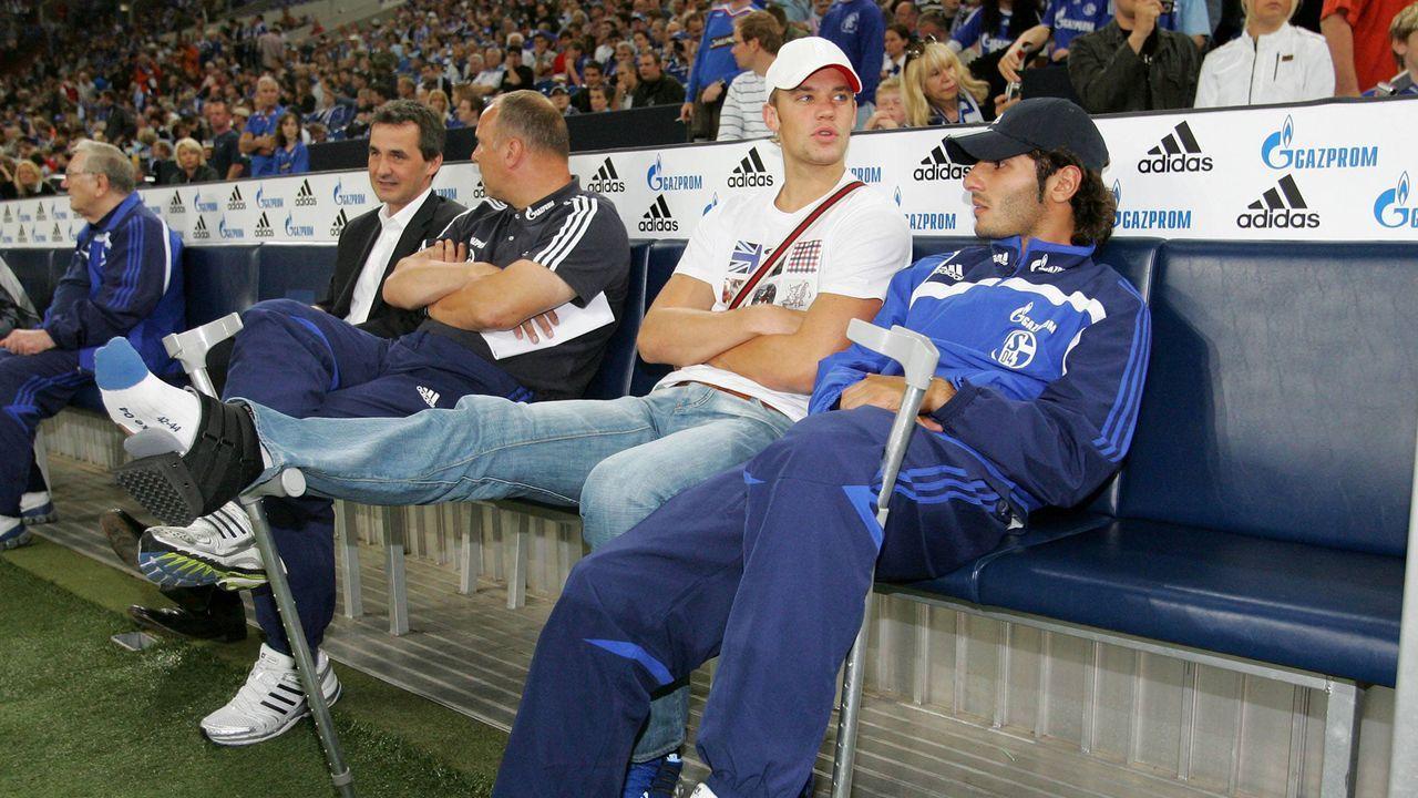 Juli 2008 - Mittelfußbruch - Bildquelle: imago sportfotodienst