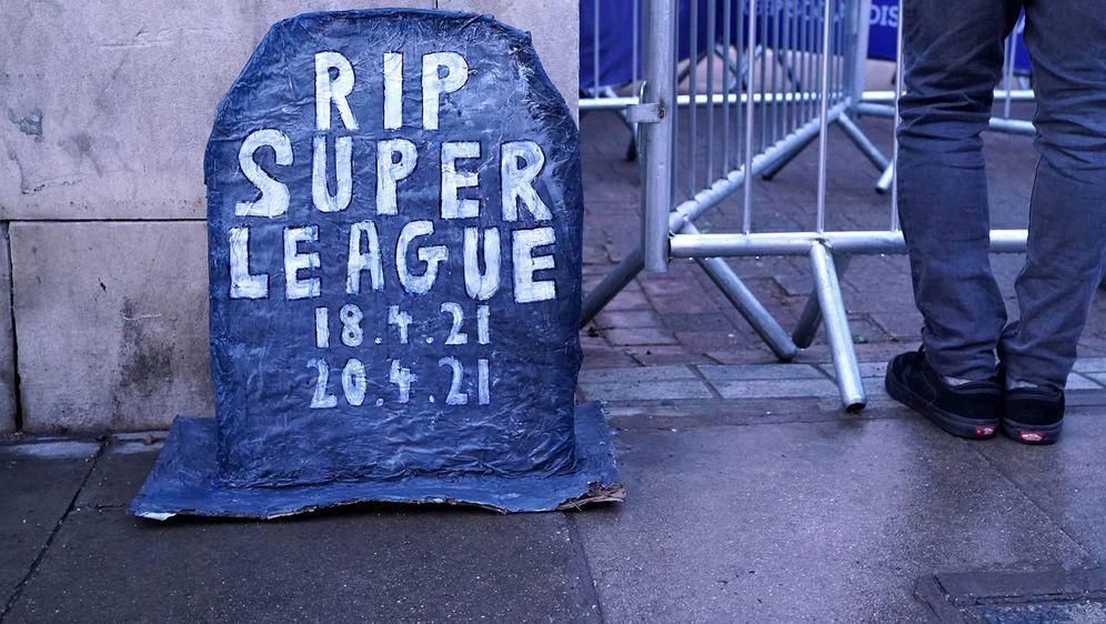 Kann die Super League doch überleben? - Bildquelle: imago images/PA Images