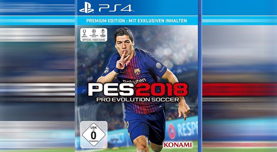 PES 2018 - Bildquelle: Konami