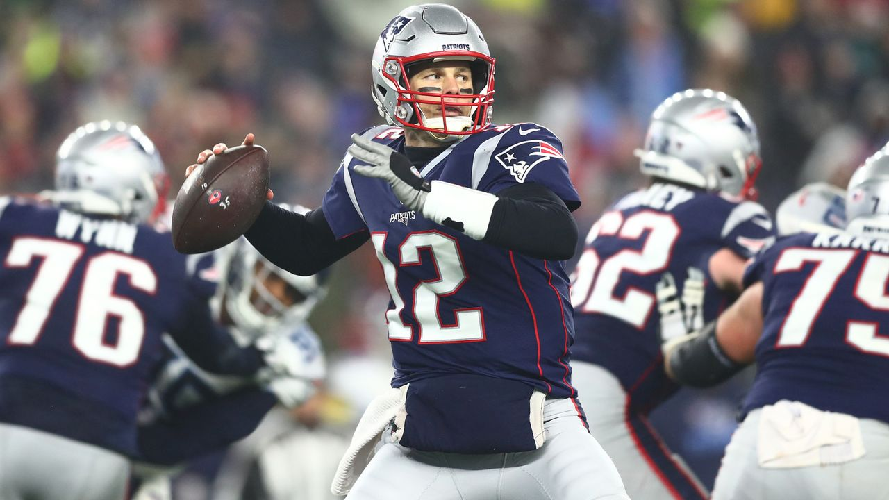 Platz 3: New England Patriots - Bildquelle: 2017 Getty Images